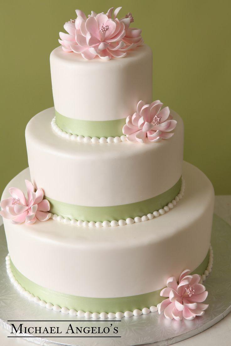 Cake Pink Lotus Flowers 2513897 Weddbook