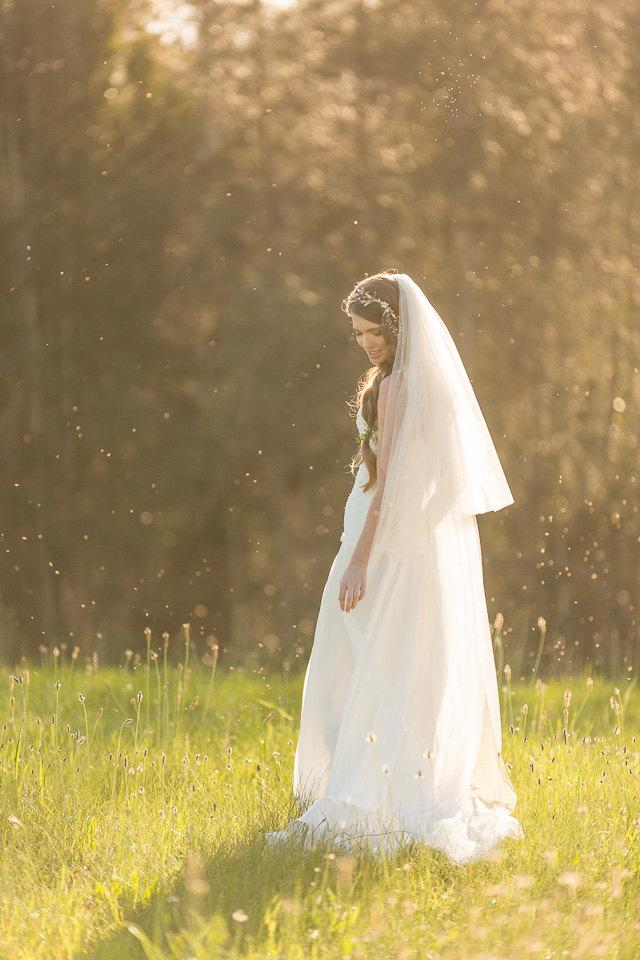 Wedding - Wedding Veil, Floor length Veil, Double Layer Chapel Veil,  Bridal Veil, Tulle Veil,