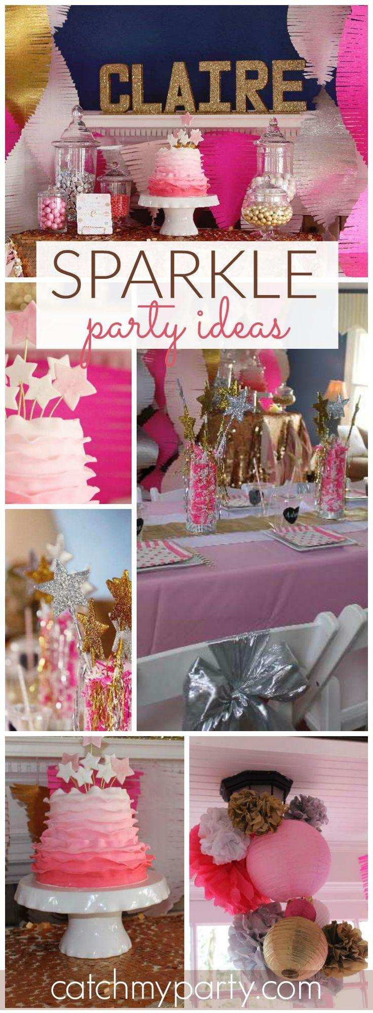 "Mariage - Sparkle And Shine / Birthday ""Sparkle And Shine Party"""