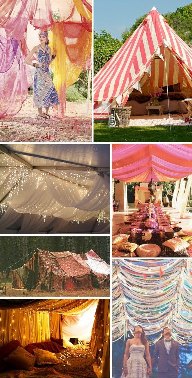 Mariage - Tents, Canopies And Chuppahs For The Hippie In You