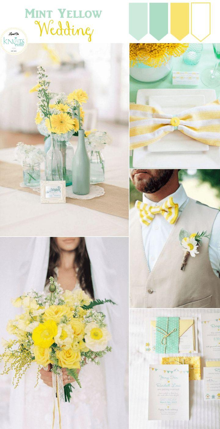 Mariage - Mint And Yellow Wedding Inspiration