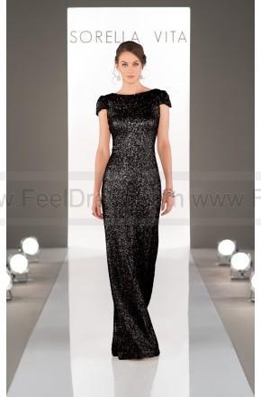 Wedding - Sorella Vita Modern Metallic Bridesmaid Dress Style 8718