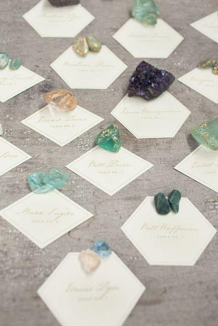 Mariage - Stacy   Charlie: Geode   Crystal Party Decor