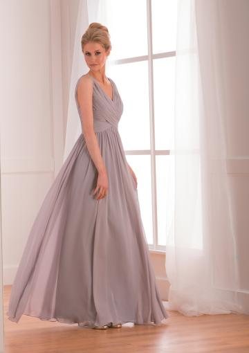 Wedding - Sleeveless Floor Length Dress