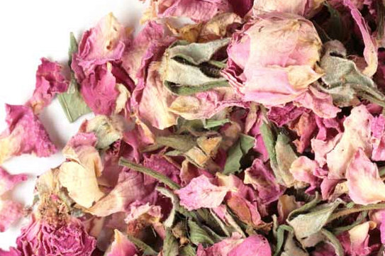 Mariage - Pink Rose Buds and Petals in bulk, Rose Petal Tea, Wedding Decorations Roses, Dried Roses By the Pound