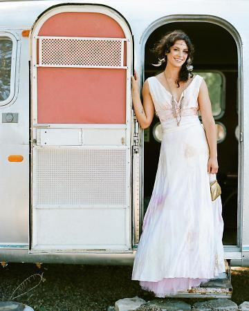 Momo Soho Featured On Martha Weddings Boho Bridal Mother Of The Bride Dresses Chic Bridesmaids Island Wedding