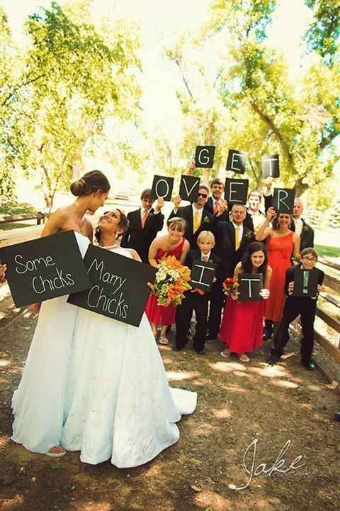Wedding - Wedding Photos That Prove Two Brides Are Better Than One
