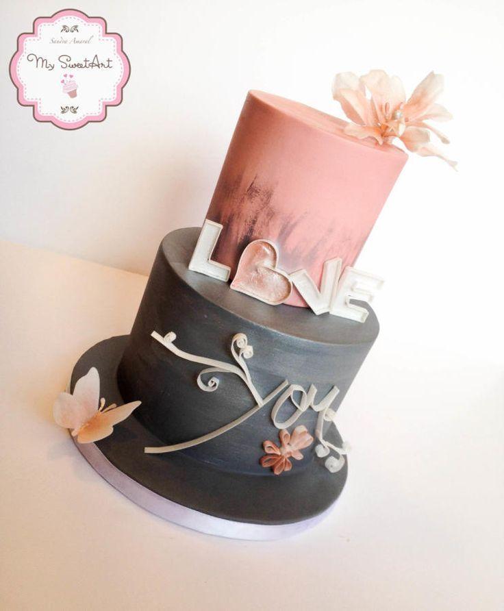 زفاف - Love You Cake Decoration