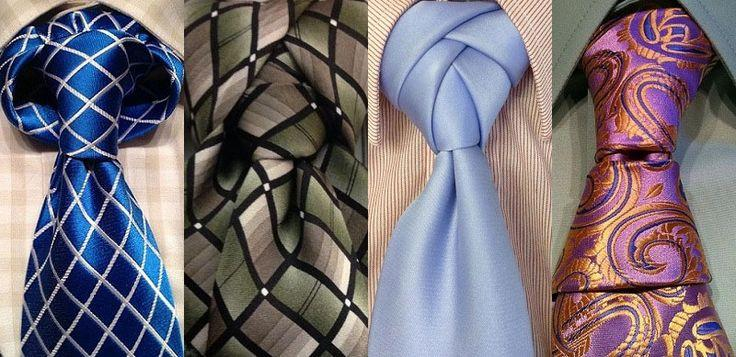 Свадьба - How To Tie A Variety Of Different Tie Knots Ranging From Simple To Complex