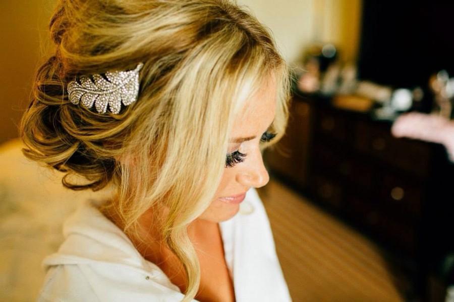Свадьба - Wedding hair comb Rhinestone Bridal comb Wedding accessories Decorative comb Hair jewelry Bridal hair comb Wedding headpiece Hair comb pearl