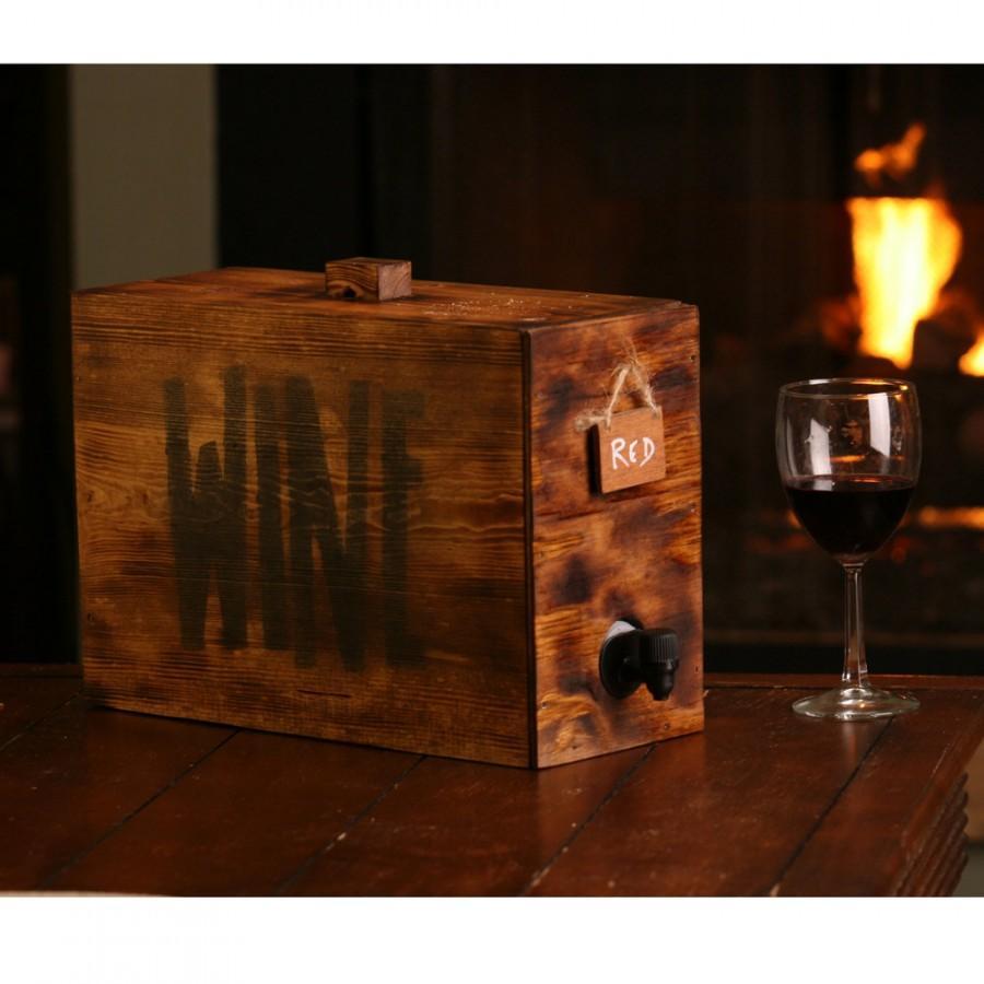 Wedding - Wine barrel wedding wine decanter wedding reception party wine decanter wine bag