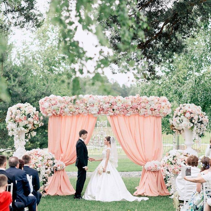 "Mariage - Belle The Magazine On Instagram: ""Swoon- Worthy Wedding Ceremony, Every Aspect Is So Dreamy!   Via   Planning: @Caramelwedding"