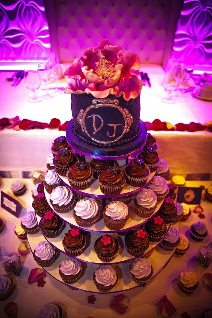 Mariage - Beautiful Cupcakes and Cake