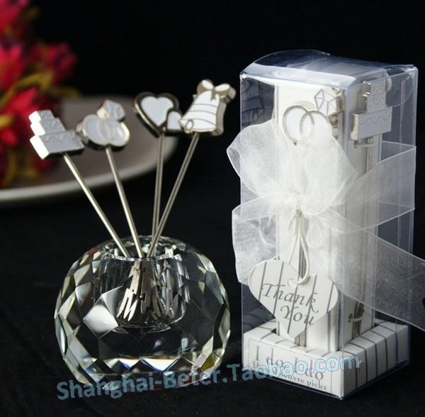 Свадьба - I do, I do Hors d'oeuvre Fruit Picks WJ039 Wedding Souvenirs