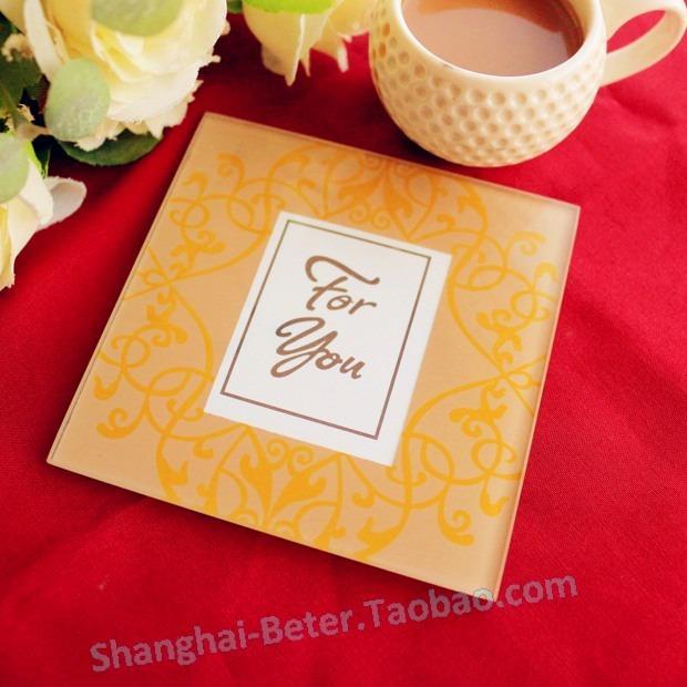 Wedding - 皇家婚禮來賓答謝BETER-BD015金色小相框杯墊party gifts歐式寶寶生日宴