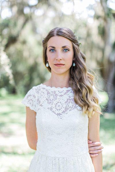 Boho Wedding Dress Florida : Boho florida wedding by flora fauna southern weddings