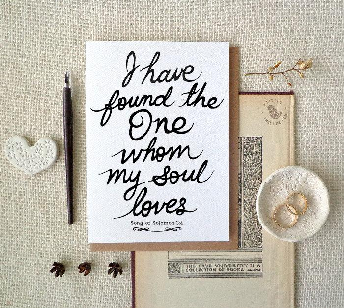 bride to groom card groom to bride card wedding day i have found