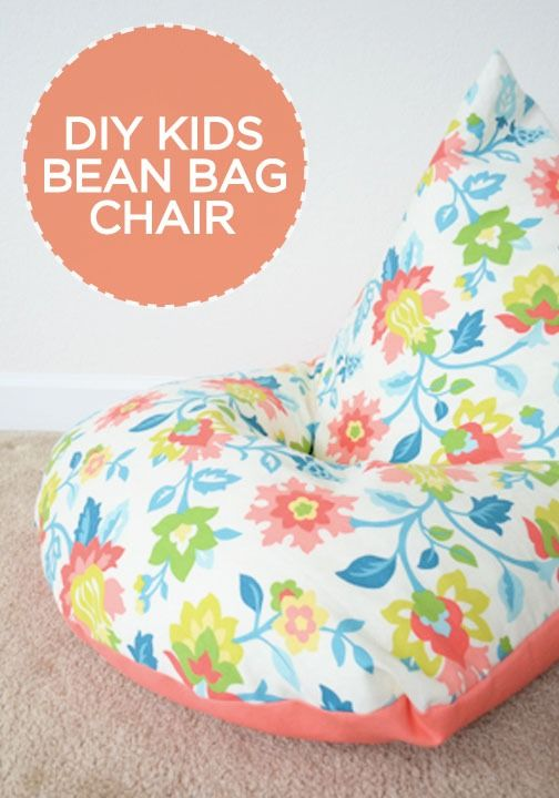 Wedding - DIY: Sew A Kids Bean Bag Chair In 30 Minutes
