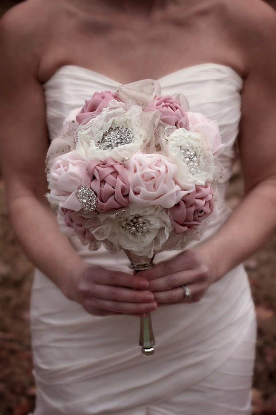 Mariage - Blush Wedding Bouquet
