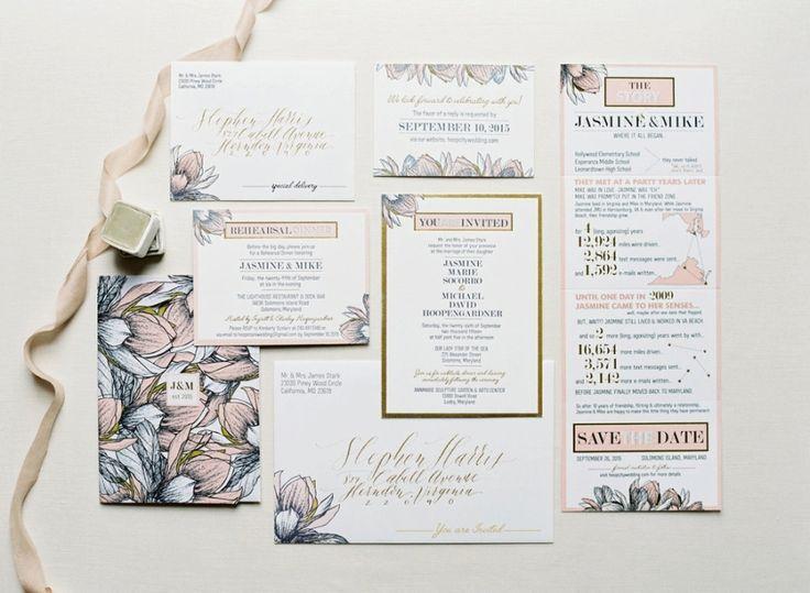 Wedding - Classic Garden-Inspired Solomons Island Wedding