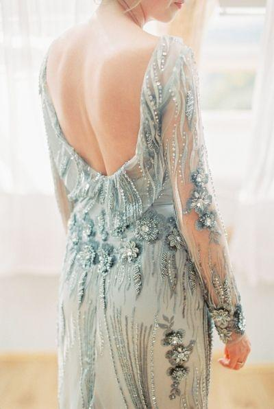 Mariage - Inspired By: Jamie Chung's Long Sleeve Monique Lhuillier Wedding Dress
