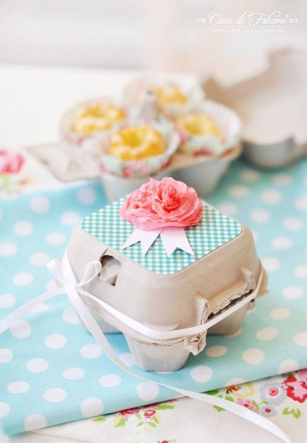 Свадьба - Cupcake Boxes: 40 DIY Ideas To Package Your Cupcakes