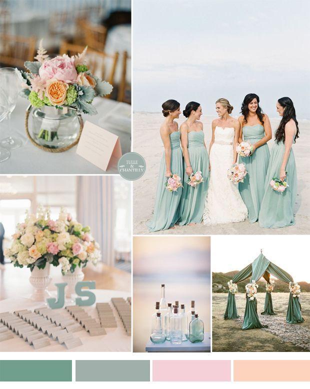Wedding Theme Top 5 Beach Wedding Color Ideas For 2015 2517097