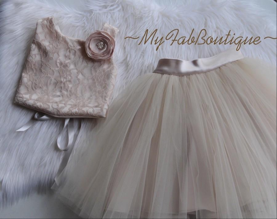 d2e3bc0463e Corset   Tulle Skirt