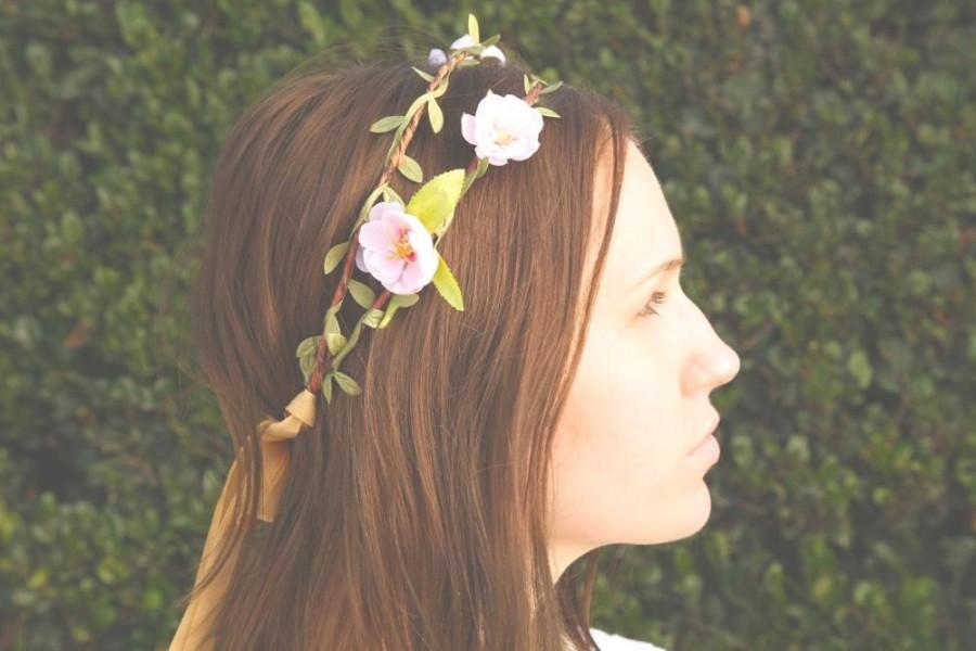 Wedding - Flower crown - wedding hair accessories - floral headpiece - flower headband - Wedding wreath - wedding flower crown - Bridal headpiece