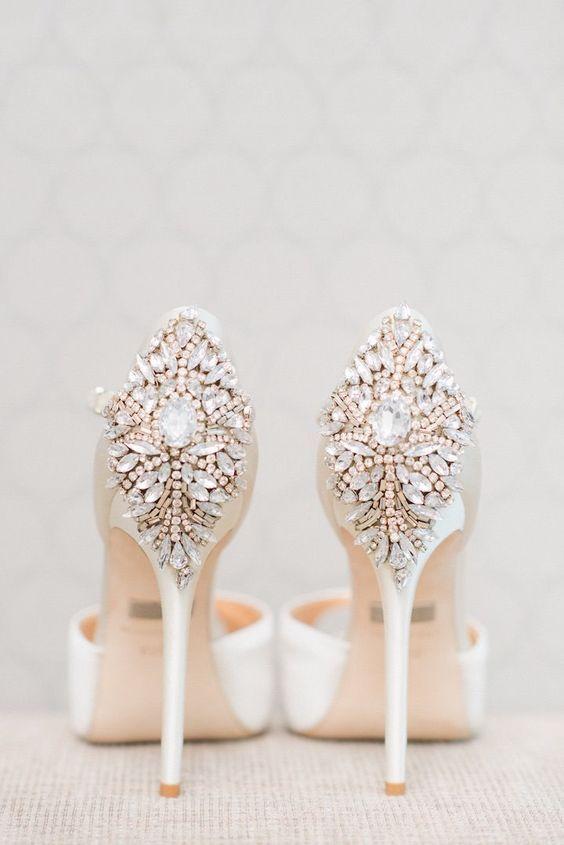 8b00ce4e376 Shoe - 100 Pretty Wedding Shoes From Pinterest  2517329 - Weddbook