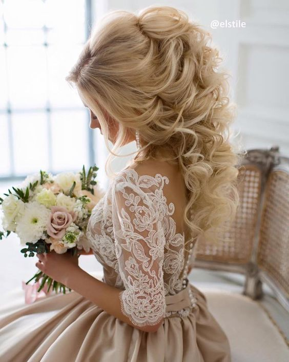 Свадьба - 30 Perfect Wedding Hairstyles With Glam