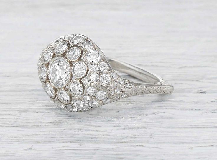 Hochzeit - Vintage Engagement Rings