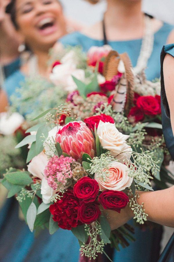 Свадьба - Vintage bridesmaid Bouquet