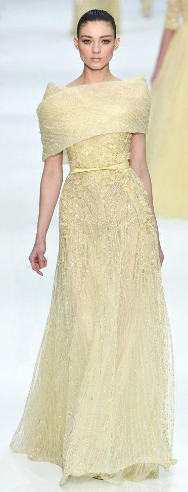 Свадьба - Elie Saab - Haute Couture Spring Summer 2012 - Shows - Vogue.it