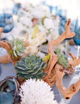 Beach Wedding Centerpieces.Wedding Theme Beach Wedding Centerpieces 2517707 Weddbook