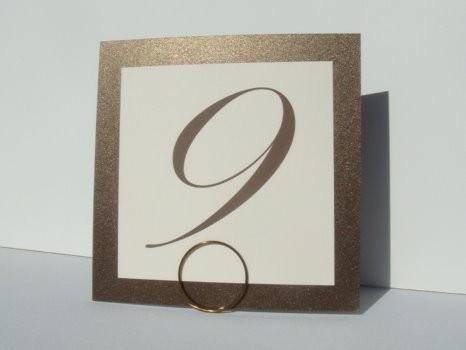Свадьба - Wedding Sign Holders, Mini Table Number Holders, Wedding Decor, 2pcs