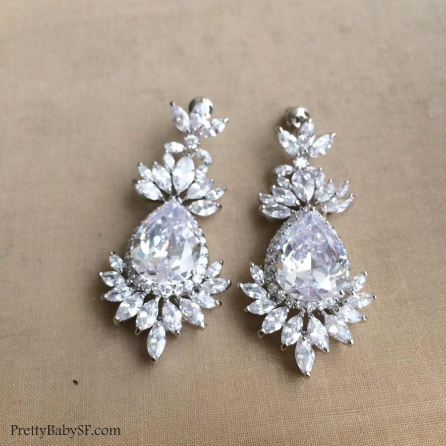 Art deco earring art deco jewelry chandelier earring bridal art deco earring art deco jewelry chandelier earring bridal earring cz earringcrystal earringwedding earringgreat gatsby large arubaitofo Gallery