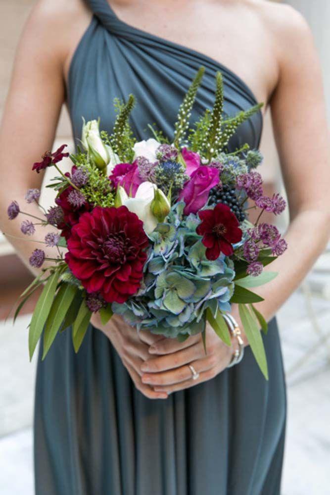 Hochzeit - 21 Classy Fall Wedding Bouquets For Autumn Brides