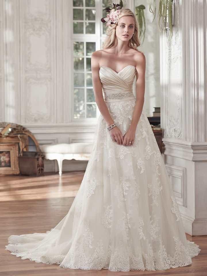 Свадьба - Gorgeous White Wedding Dress