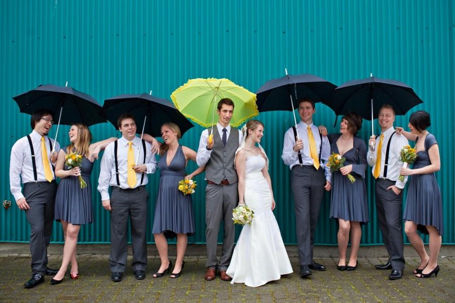 Wedding - Infinity Dress Convertible Bridesmaid Dress - Jersey Wrap Style