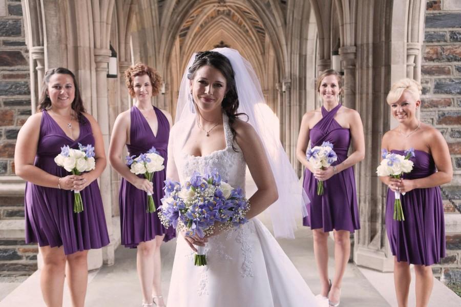 Mariage - Convertible Infinity Wrap Bridesmaid Dress
