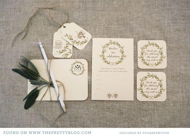 Wedding - Kitchen Tea {Free Printable}