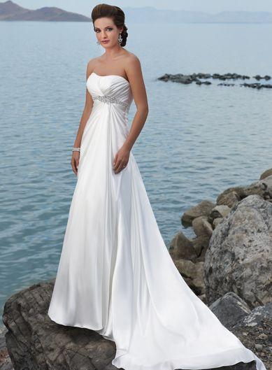 Hochzeit - Long Bridal Dress
