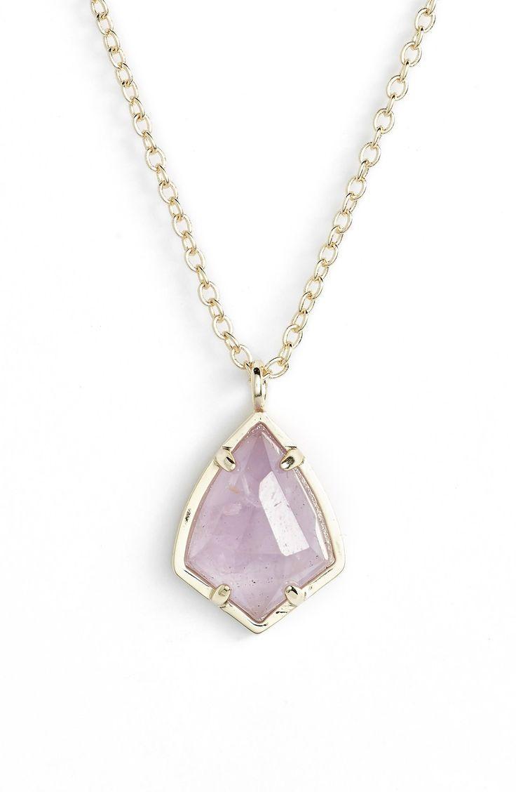 Mariage - Women's Kendra Scott 'Cory' Semiprecious Stone Pendant Necklace