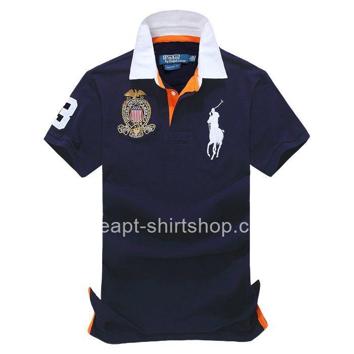 Ralph Lauren Mens Classic Fit Big Pony Polo Royal Shirt Ralph