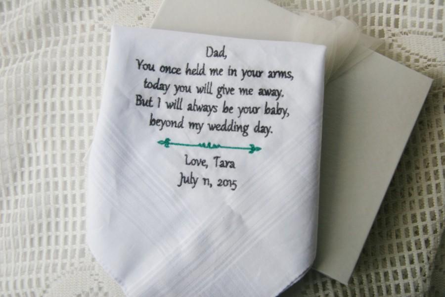 Gift Boxed Daughter To Father Gift For Dad Embroidered