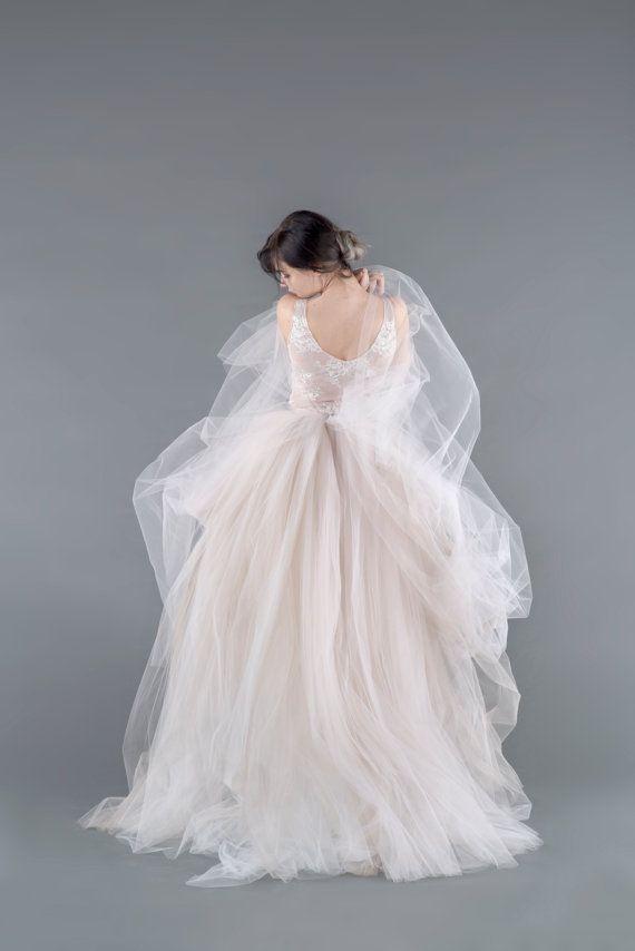 Catherine Tulle Gown Skirt Tulle Wedding Skirt