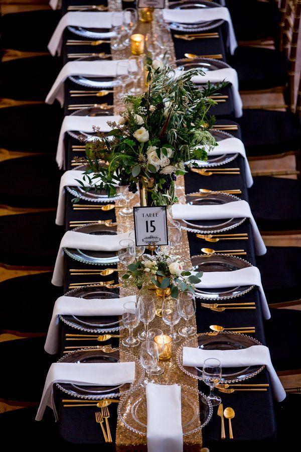 Свадьба - Glam Chicago Wedding With Art Deco Details