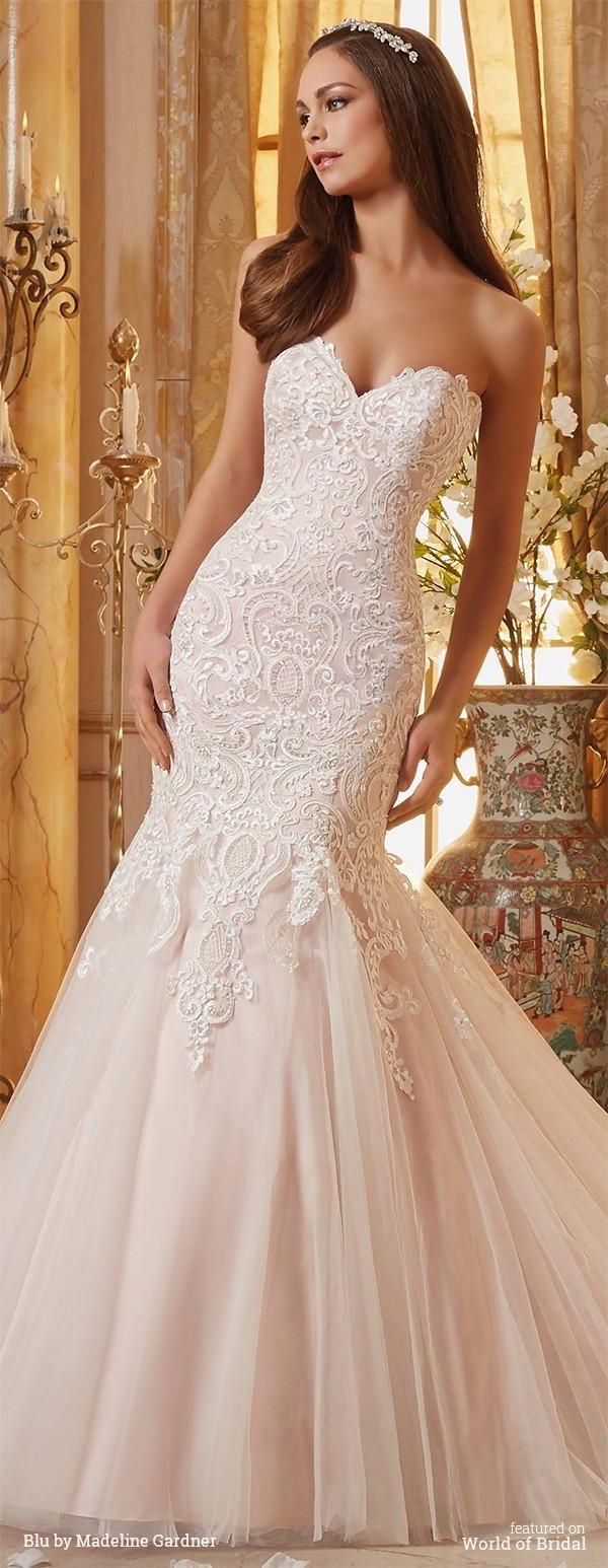Wedding - Blu by Madeline Gardner Fall 2016 Wedding Dresses
