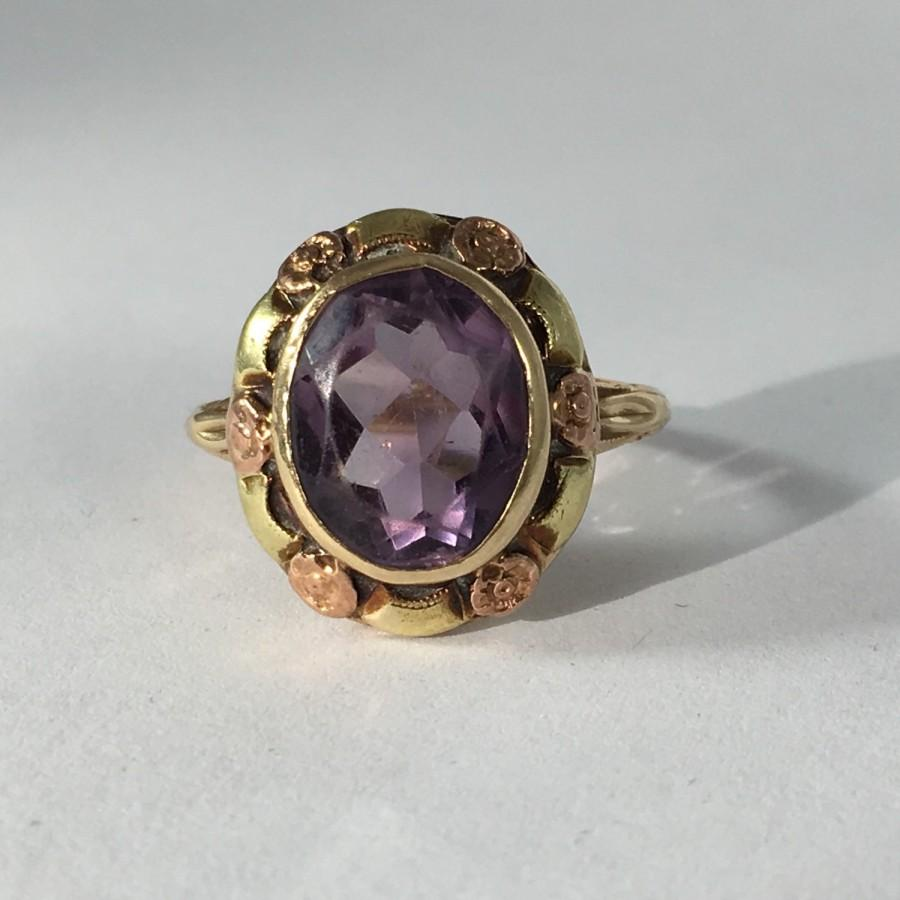 amethyst ring vintage - photo #38